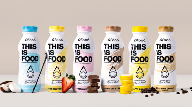 YFood is a selection of healthy, nourishing, drinkable meals and powders