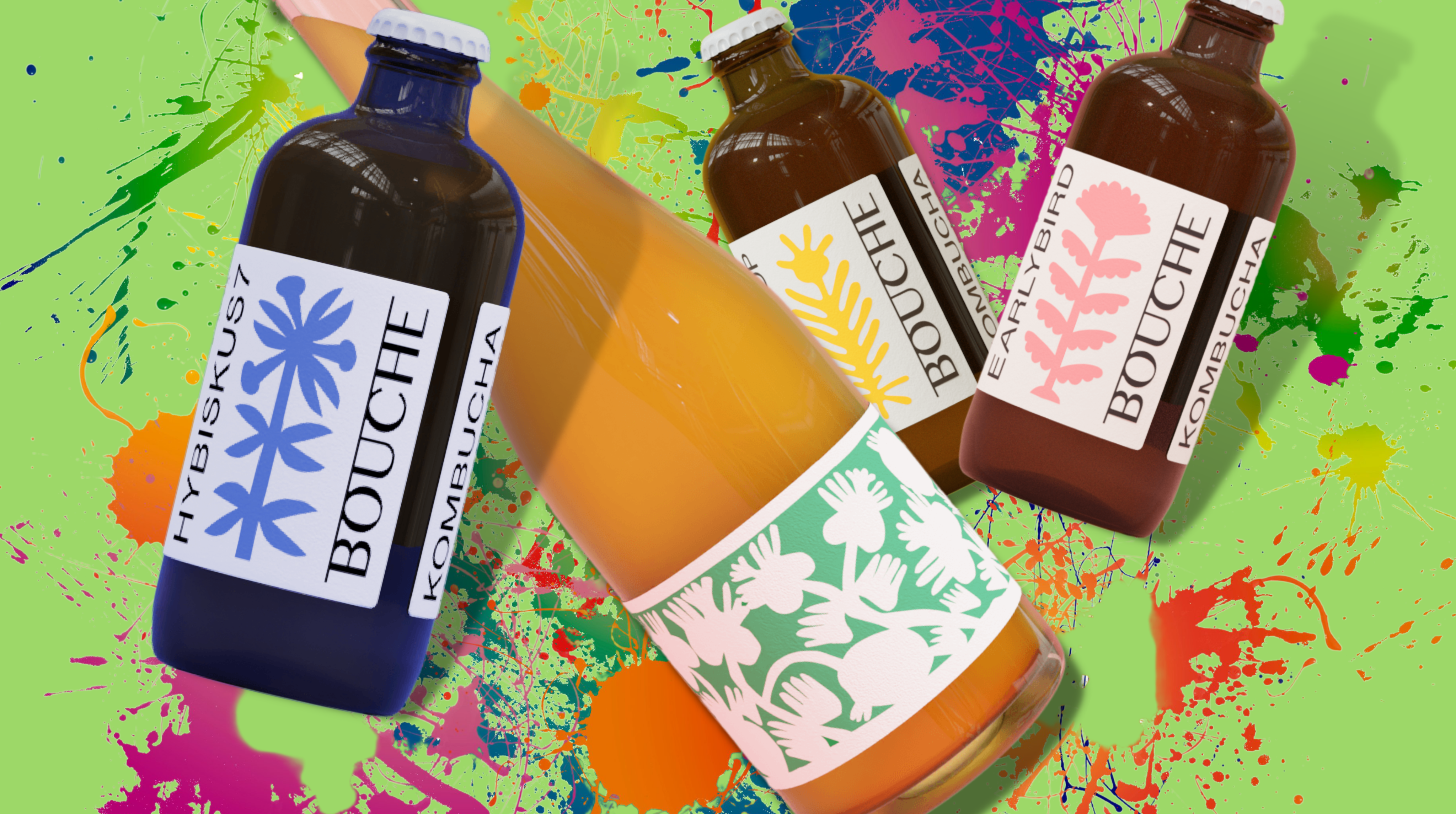 Bouche Kombucha Brewery crafts unique aromatic flavors for your pallet