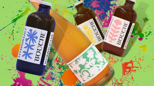How German Kombucha Brewery Bouche crafts unique aromatic flavors for your pallet